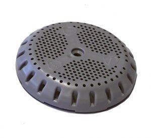 Filtersieb in Grau