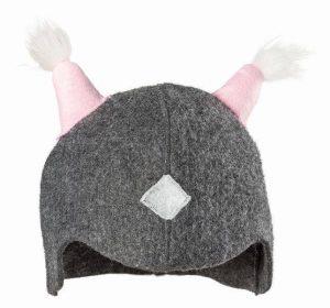 Wikkinger Mütze mit Bommel