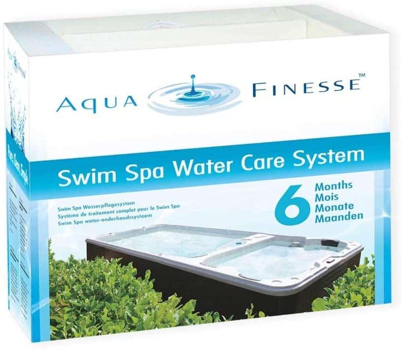 Aquafinesse SwimSpa Box Layout