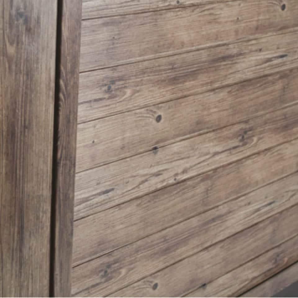 Dimension ONE Whirlpool Wandverkleidung Terracina Vintage Cedar.