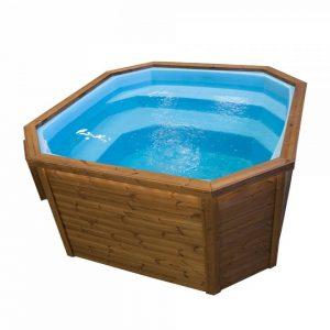 Nano Pool Grandy Thermokiefer Blau